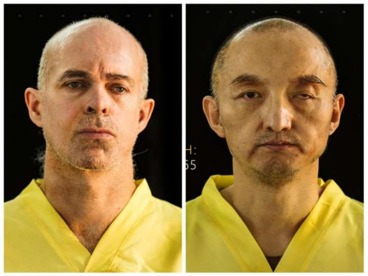 © ISIS Media The two hostages, Ole Johan Grimsgaard-Ofstad from Norway (L) and Fan Jinghui from China (R), were pictured in ISIS's Dabiq magazine.