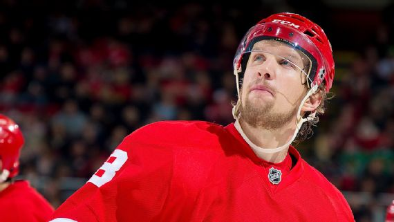 Justin Abdelkader, who scored a career-high 21 goals last season, has three goals and seven points through 15 games this season