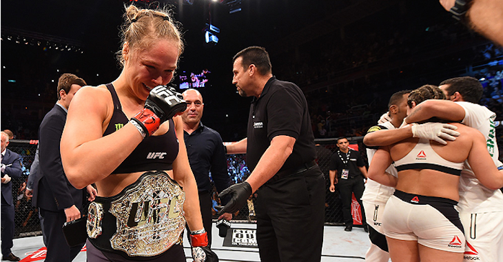 Ronda Rousey loses to Holly Holm by second-round knockout
