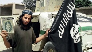 A French official says Belgian Abdelhamid Abaaoud is also linked to the foiled attack on a Paris-bound train in August.