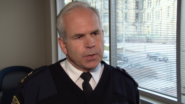 Ottawa Police Chief Charles Bordeleau says effective Monday, the number of investigators assigned to their guns and gangs unit has more than doubled from 10 to 22 on a temporary basis. (CBC)