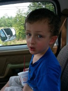 Suffered multiple gunshot wounds fired by police ... six-year-old Jeremy Mardis. Picture: FacebookSource:Facebook