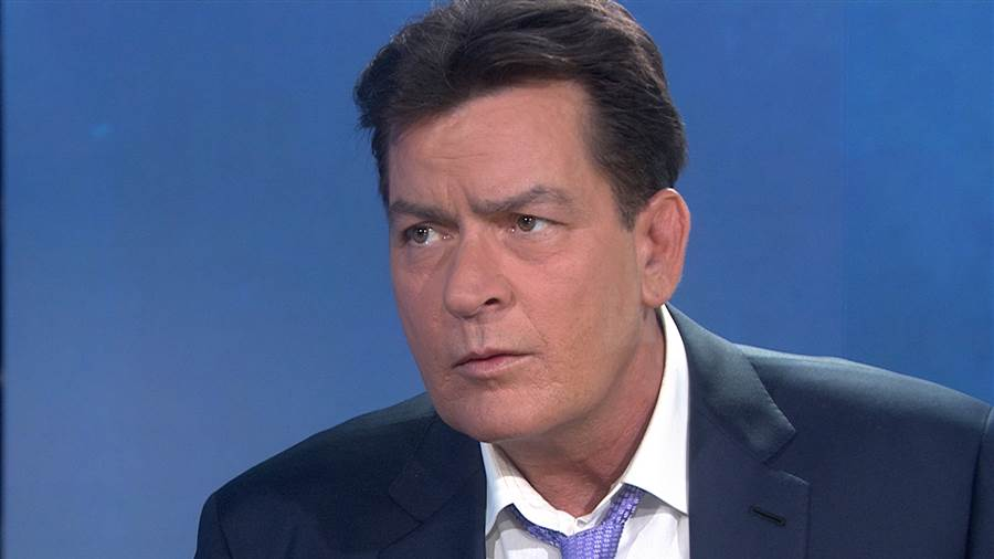 Charlie Sheen says he is HIV-positive