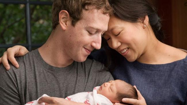 Zuckerberg & Wife Celebrate Daughters Birth by Announcing Charitable Pledge