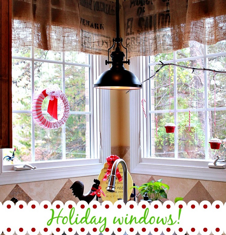 10 Diy Christmas Holiday Window Decorations