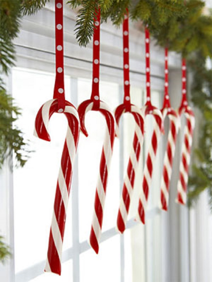 10 diy christmas holiday window decorations for The christmas decorations
