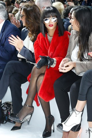 """Picture credit: Getty I'm living the life of my dreams"""" Rihanna"""