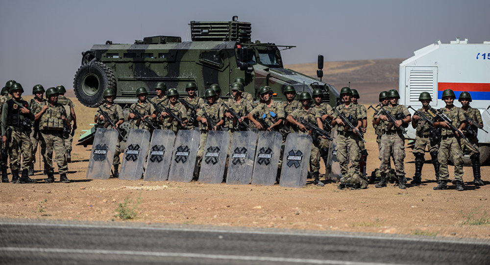 Turkey Clearing Syrian Border Area of Daesh Militants
