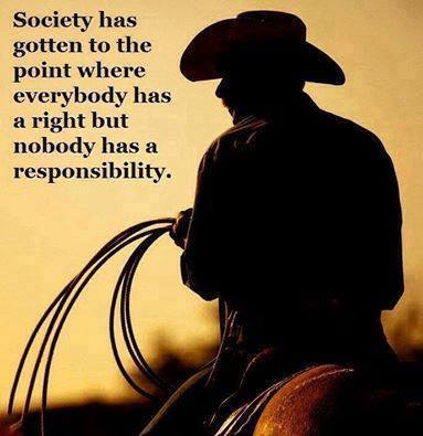 Right vs. Responsibility. An Entitled Society