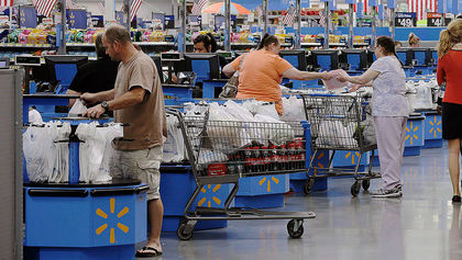 WalMart Canada to charge for plastic bags