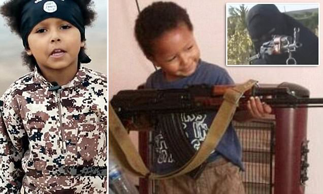 British boy soldier in new ISIS execution video