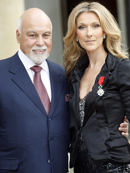 René Angélil and Céline Dion THOMAS SAMSON / GAMMA / GETTY