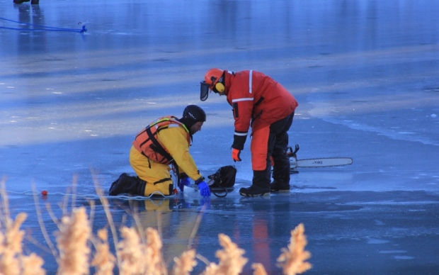 Police searching for Taneesha Brown find body beneath frozen pond