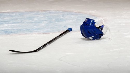 Emotions escalated quickly in a recent junior hockey league game in Quebec.  Getty Images