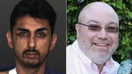 Alex Demetro (left) crashed a Corvette into a tree during a test drive in Ontario Tuesday, Feb. 23, 2016, killing CarMax salesman Warren Smale (right). ABC7 News