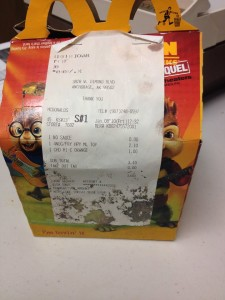 """6 years since I bought this """"Happy Meal"""" at McDonald's"""