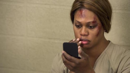 Laverne Cox in Orange is the New Black. Source: Supplied
