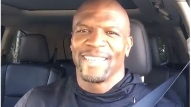 The actor says he hopes he can encourage others to speak about about porn addiction (Facebook/TerryCrews)