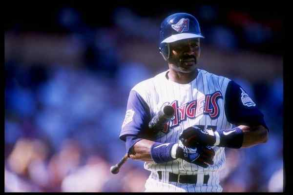 Tony Phillips, who played two seasons for the Angels, has died at 56. (Harry How/Allsport)