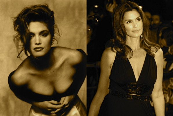 Cindy Crawford Then and Now  Photo Credit Kocev Fashion