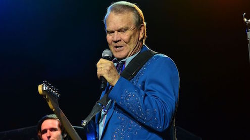 "Glen Campbell won the 2015 for Best Country Song, for ""I'm Not Gonna Miss You."" Lisa Lake/Getty Images"