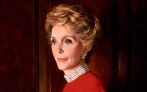 Nancy Reagan Image credit First Ladies Influence and Image