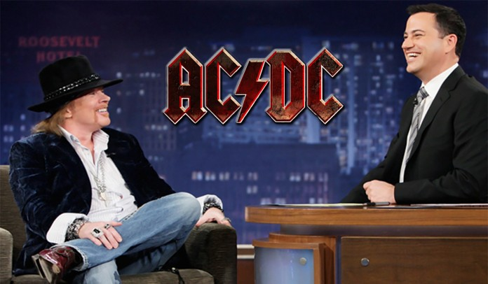 Axl Rose announces he's joined AC/DC: Band will open for Guns N' Roses on upcoming tour