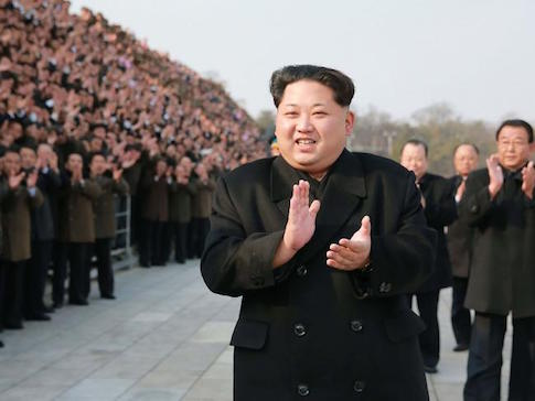 """Fresh threats ... North Korea has threatened """"indiscriminate"""" nuclear strikes on the US and South Korea as the two begin their largest ever military drills. Picture: AFP.Source:AFP"""