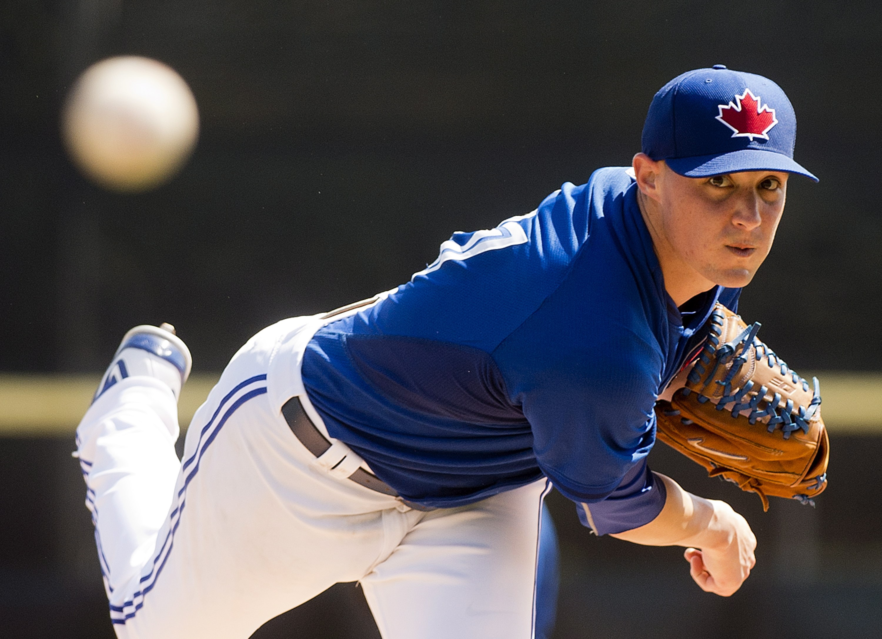 Toronto Blue Jays give Aaron Sanchez spot in starting rotation