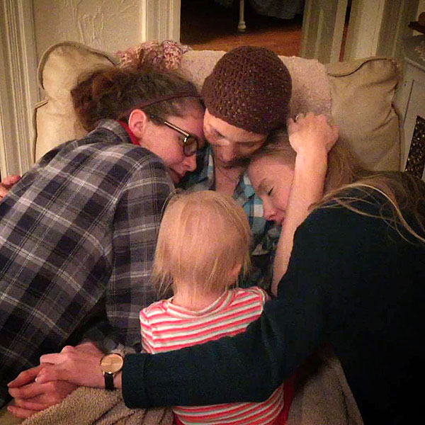 Photo of Joey Feek with her daughters, November 2015 | Courtesy Joey + Rory