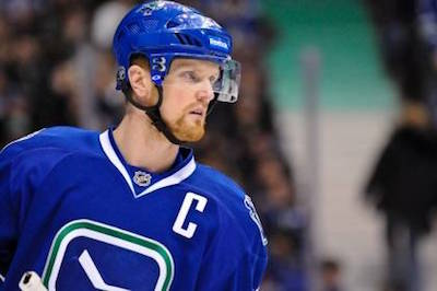 Henrik Sedin has missed six Vancouver Canucks games since suffering a rib injury in January. Photo Credit - WILLIAM H. STEWART