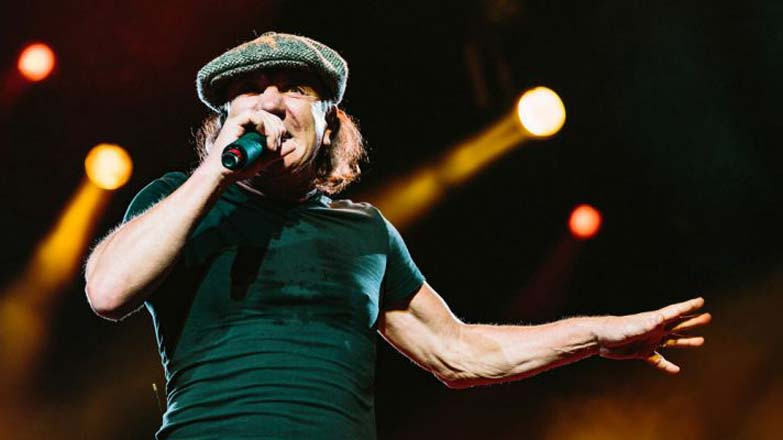 "AC/DC frontman ""crushed"" to stop tours"