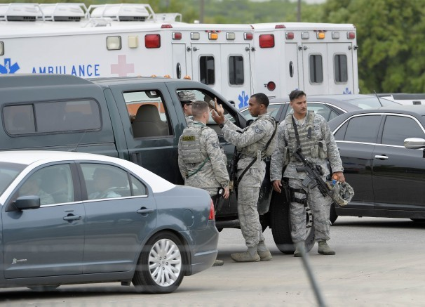 Shooter at Texas Air Force base was FBI veteran training in Special Operations