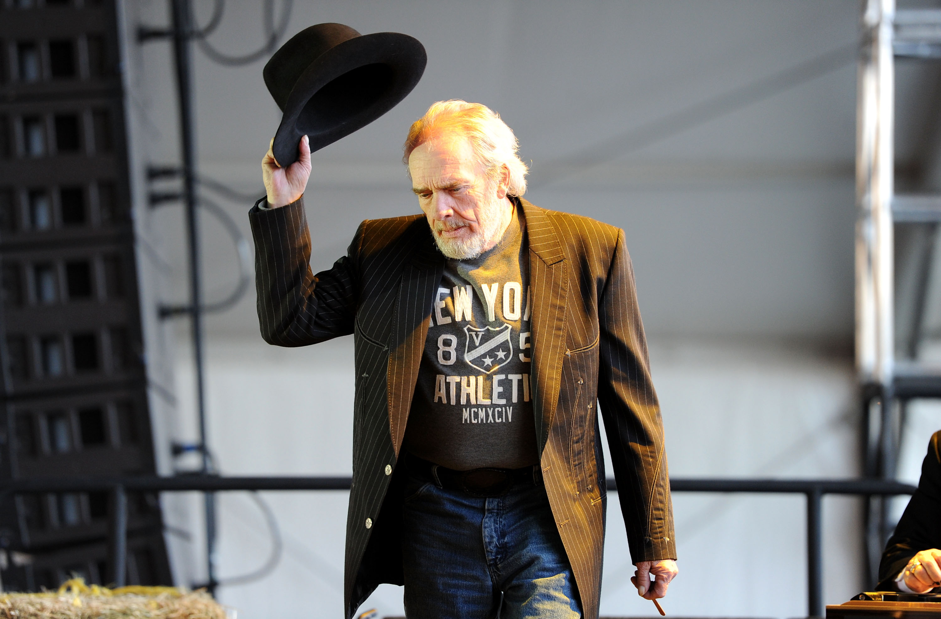 Merle Haggard left behind a VERY special something for his adoring fans