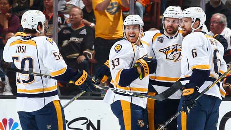 Predators edge Ducks in Game 7; advance to face Sharks
