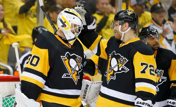 Pens take stranglehold on Caps after Hornqvist OT winner