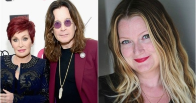 Ozzy Osbourne's alleged mistress steps out as Ozzy and Sharon reunite for press conference