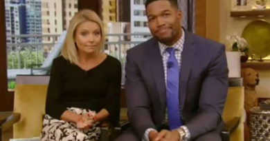 Kelly Ripa and Michael