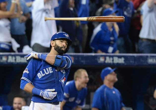 Bautista's getting beaned, and here's how…