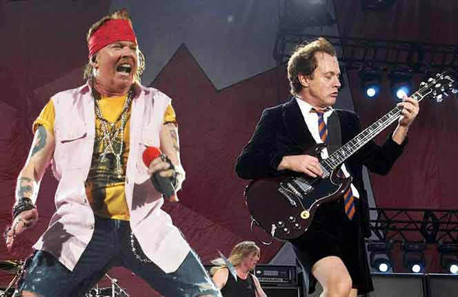 AC/DC and Axl Rose announce American tour dates