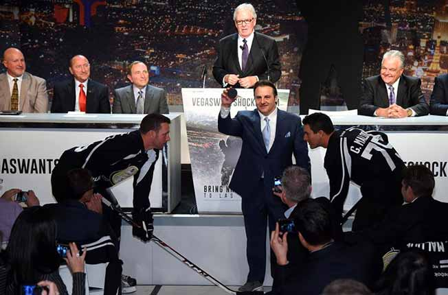 It's official. Las Vegas awarded NHL franchise