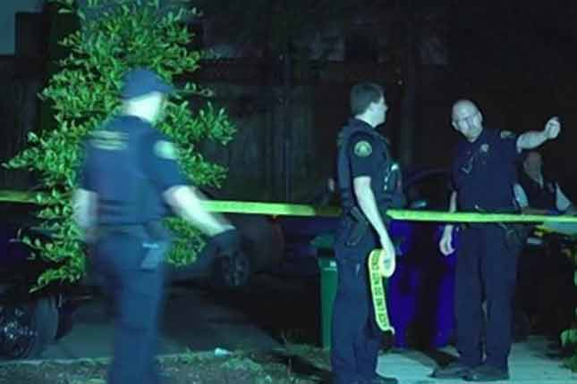 Woman fatally shoots intruder discovered in her kid's bedroom