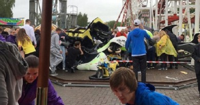 11 injured after roller coaster derails at Scottish theme park