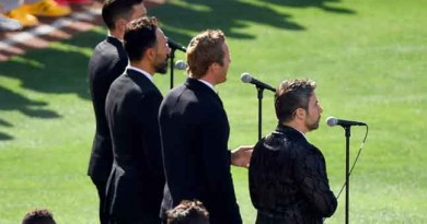 Tenors change Canadian anthem lyrics to support All Lives Matter