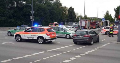 VIDEO of the gunman at the OEZ shopping centre in Germany