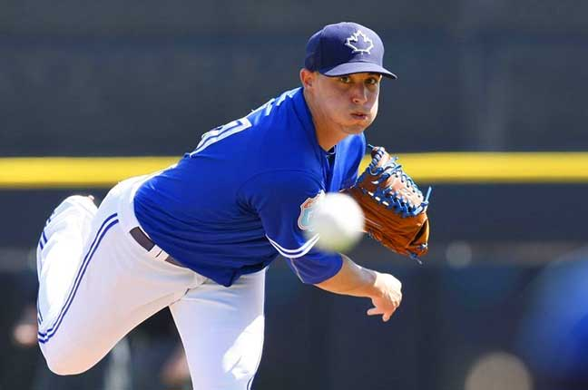Sanchez wins another as the Jays beat the Diamondbacks