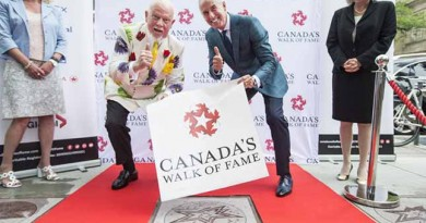 Cherry and MacLean honoured with Canada's Walk of Fame star