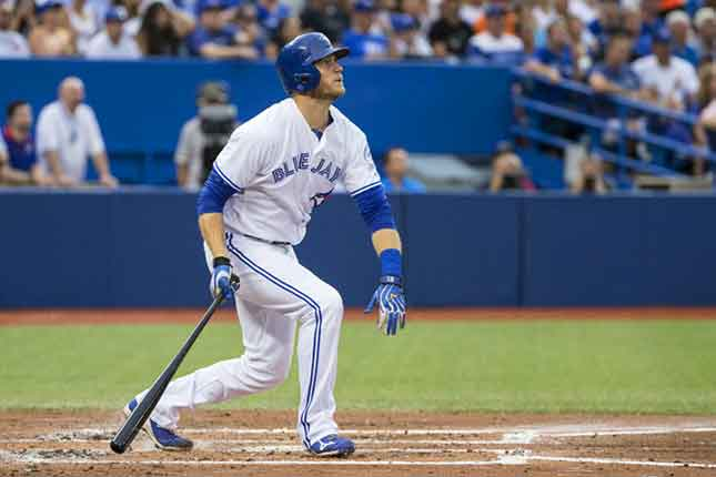 Jays' Michael Saunders voted into MLB All-Star Game