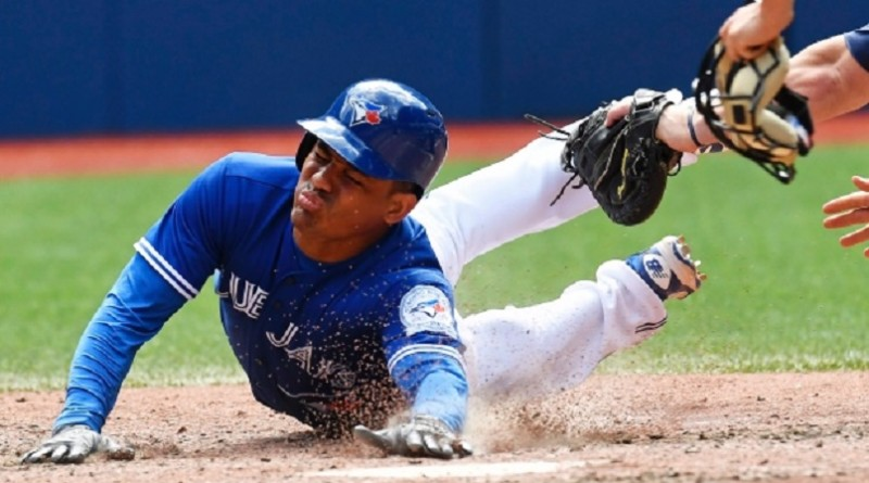 Jays end Indians' 14-game winning streak