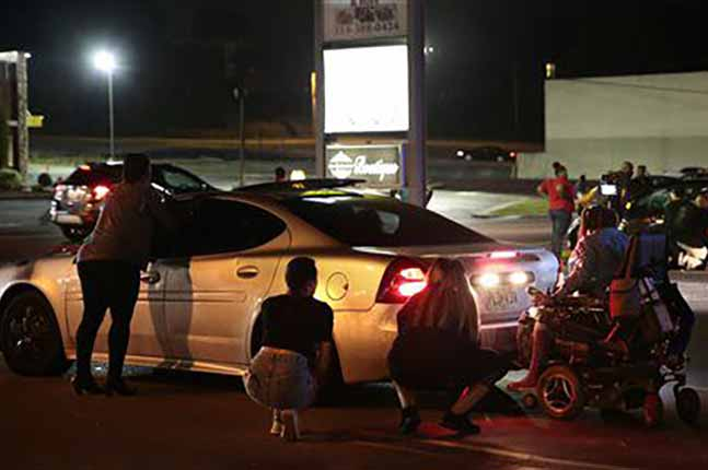 Black Lives Matter protester run over while blocking traffic (VIDEO)
